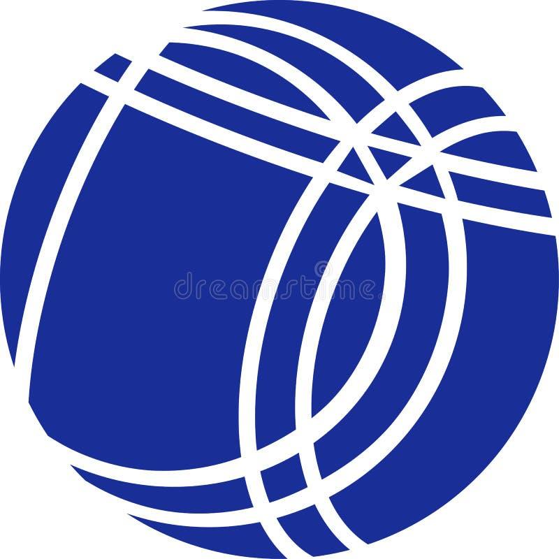 Bocce-Ball stock abbildung