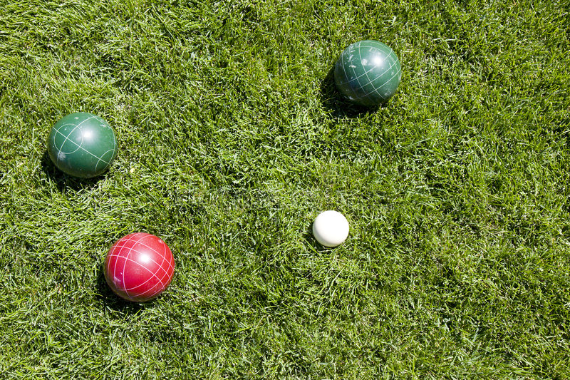 Download Bocce balls stock image. Image of boccie, game, jack, compete - 6039493