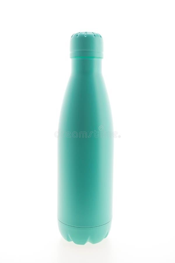 Boccetta e bottiglia di vuoto inossidabili fotografie stock