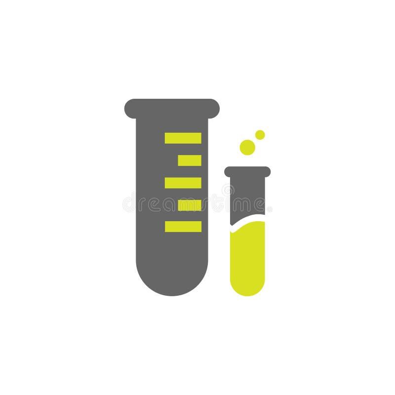 Boccetta, icona di misura Elemento dell'icona di esperimento di scienza per i apps mobili di web e di concetto La boccetta dettag royalty illustrazione gratis