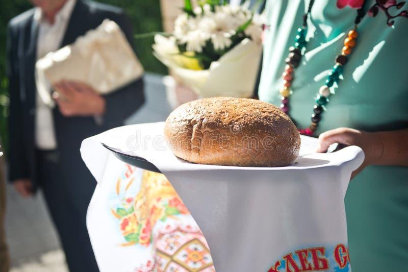 Bochenek chleb kochani goście 1615 fotografia royalty free