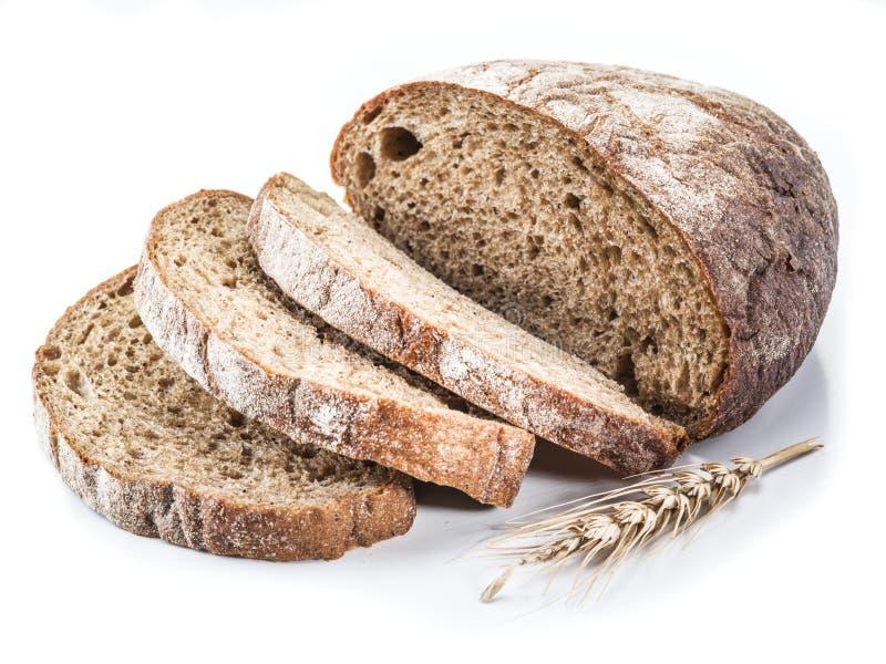 Download Bochenek chleba pokroić obraz stock. Obraz złożonej z biały - 57652133