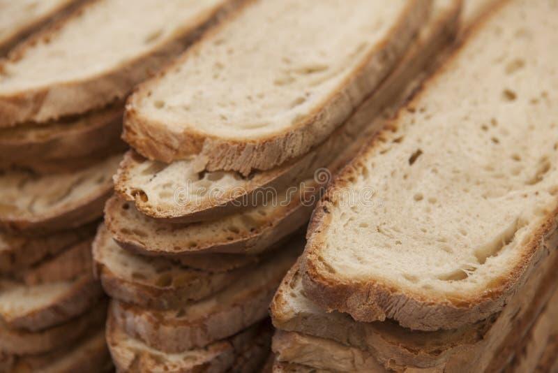Download Bochenek Domowej Roboty Pokrojony Chleb, Posiłek Durum Banatka Obraz Stock - Obraz złożonej z świeżość, worek: 57655473