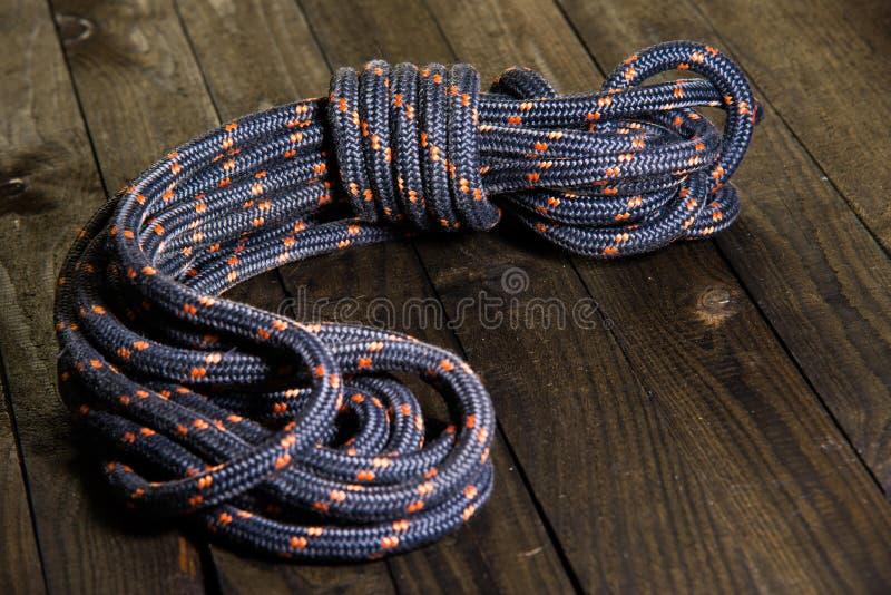 Bocht van kabel stock afbeelding