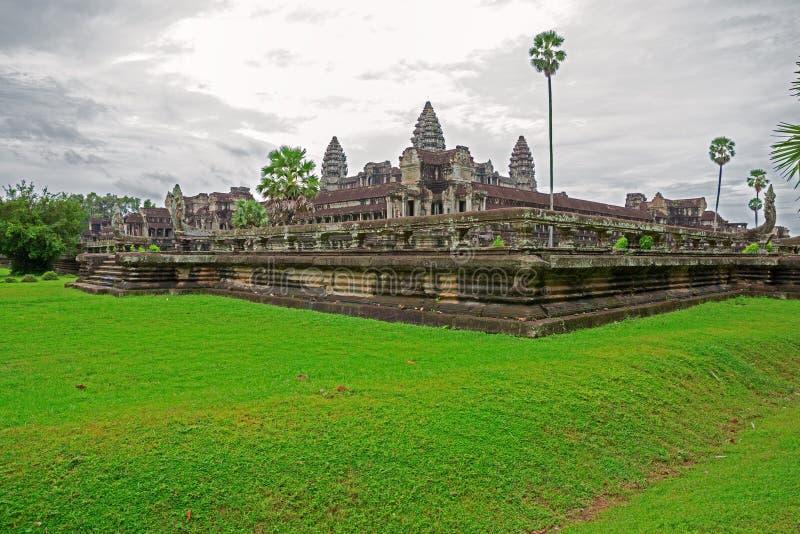 Boczny Angkor widok Wat obraz royalty free