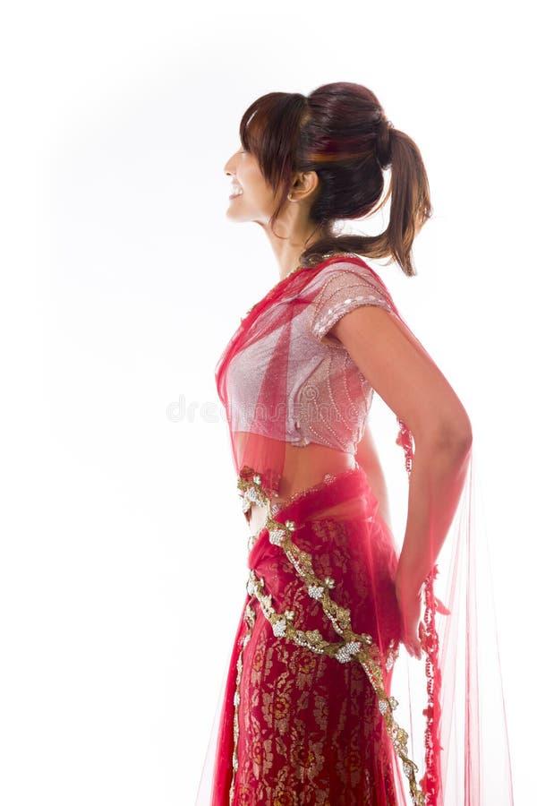 Download Boczny Profil Indiański Młoda Kobieta Dnia Marzyć Zdjęcie Stock - Obraz złożonej z plecy, tylko: 41951578