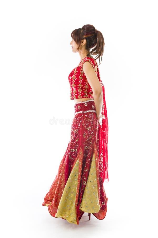 Download Boczny Profil Indiański Młoda Kobieta Dnia Marzyć Zdjęcie Stock - Obraz złożonej z ręki, zawartość: 41952382