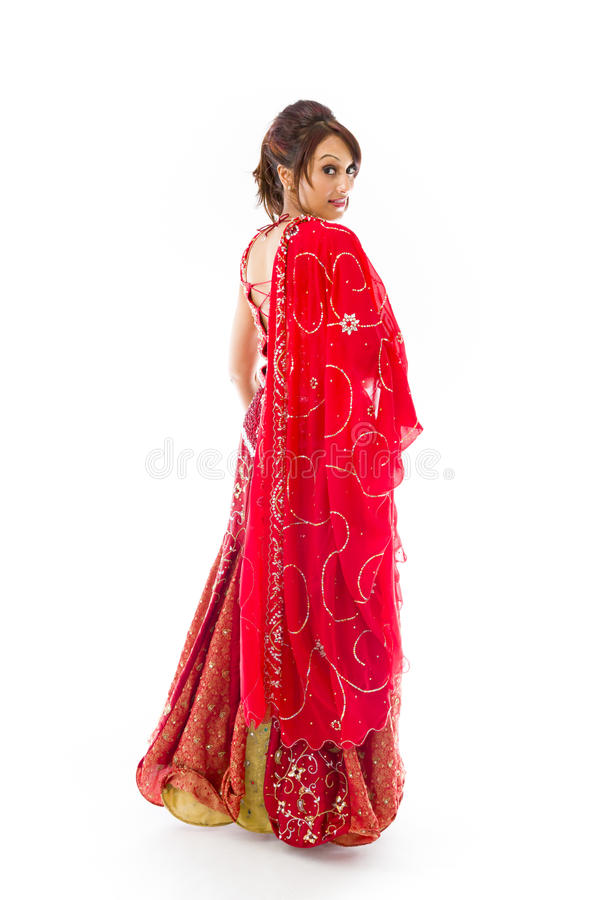 Download Boczny Profil Indiański Młodej Kobiety Ono Uśmiecha Się Obraz Stock - Obraz złożonej z fotografia, kamera: 41952373
