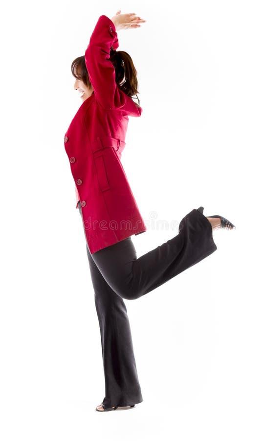 Download Boczny Profil Indiańskiej Młodej Kobiety ćwiczy Joga Zdjęcie Stock - Obraz złożonej z równowaga, zdrowy: 41950166