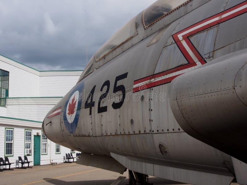 Boczny widok Wielki samolot zdjęcie royalty free
