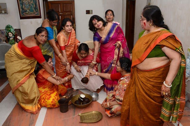 Boda bengalí fotografía de archivo libre de regalías