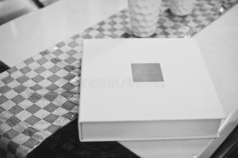 Boda clásica blanca foto de archivo