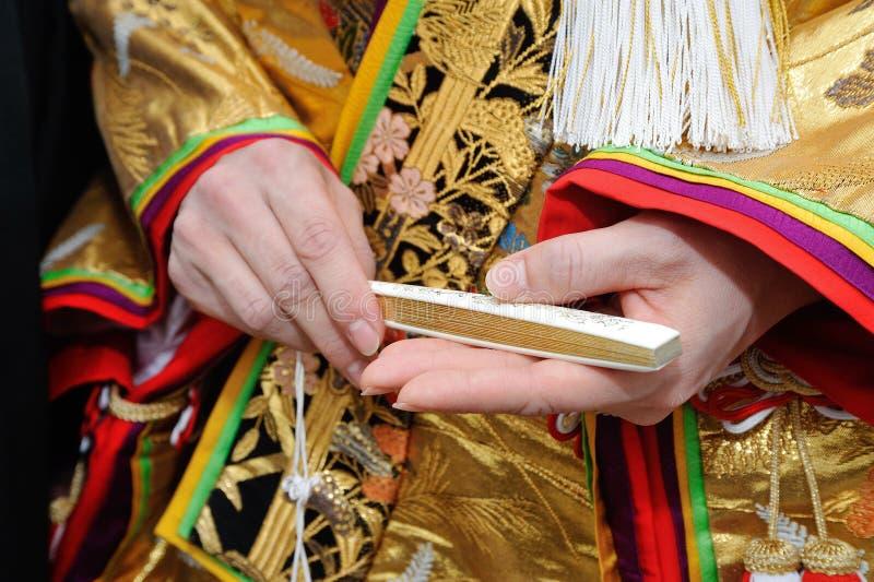 Boda del kimono imagen de archivo libre de regalías