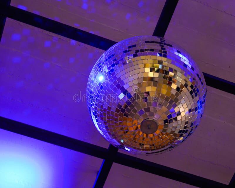 Boda ligera de la celebración del salón del partido de la bola del fest fotografía de archivo