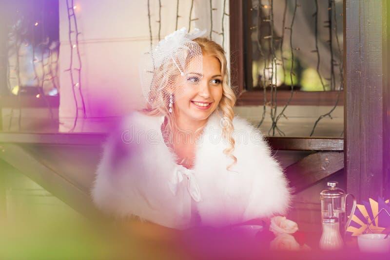 boda Novia hermosa foto de archivo libre de regalías