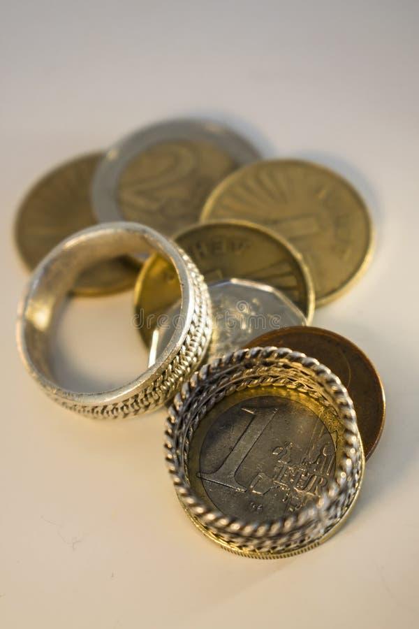 Boda para el dinero fotografía de archivo libre de regalías