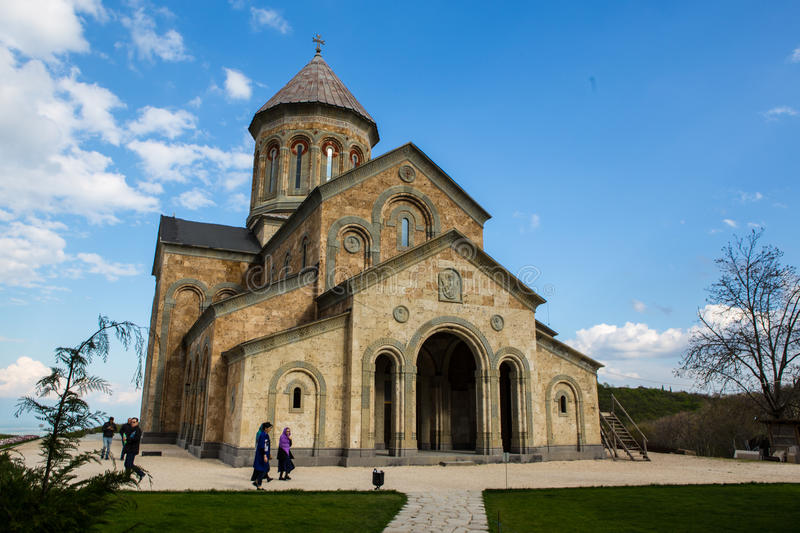 Bodbe Monastery, Sighnaghi stock images