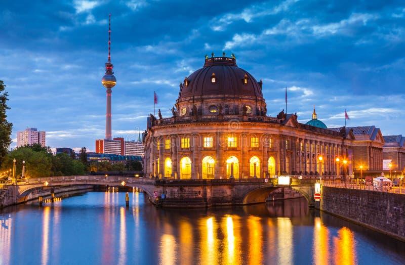 Bode музей, Берлин, Германия стоковые фотографии rf