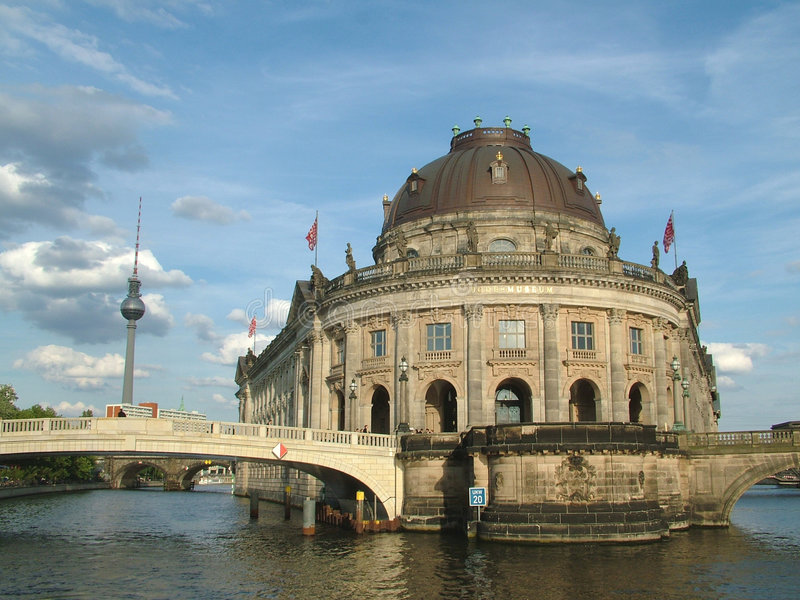 The Bode Museum, Berlin stock photo