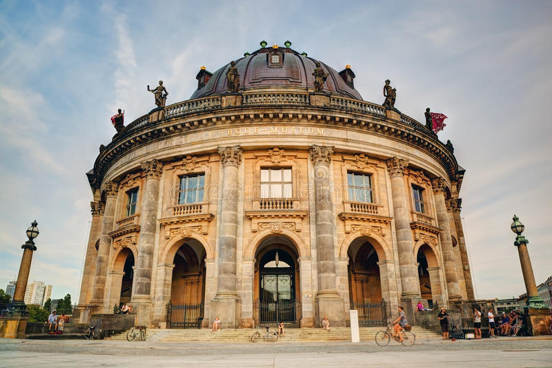 The Bode Museum, Berlin, Germany royalty free stock images