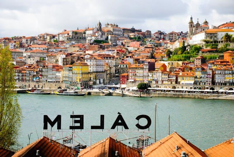 Bodega de Calem en Oporto, Portugal fotos de archivo libres de regalías