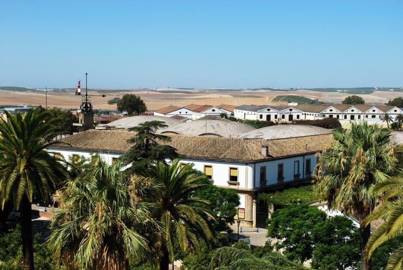 Bodega de Gonzalez Byass, Jerez de la Frontera foto de archivo libre de regalías