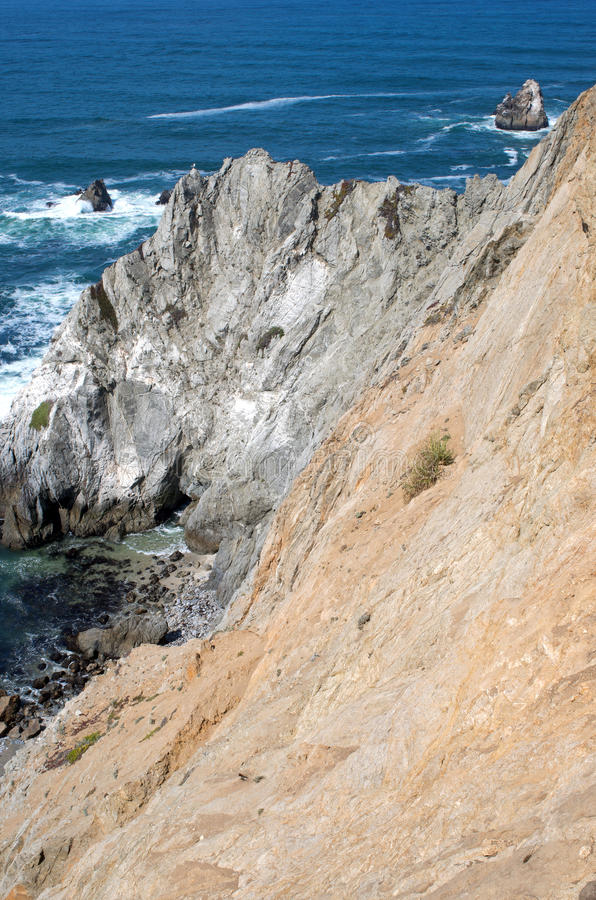 Bodega Hoofdrocky coast royalty-vrije stock foto