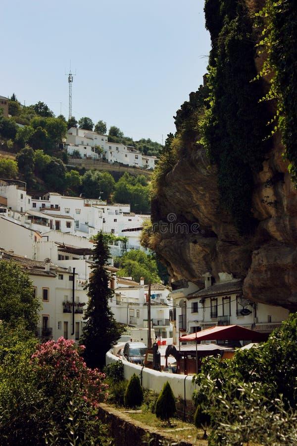 bodegas De Las Setenil Spain zdjęcie stock