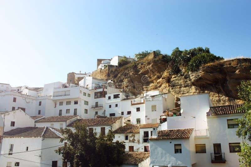 bodegas De Las Setenil Spain obraz royalty free