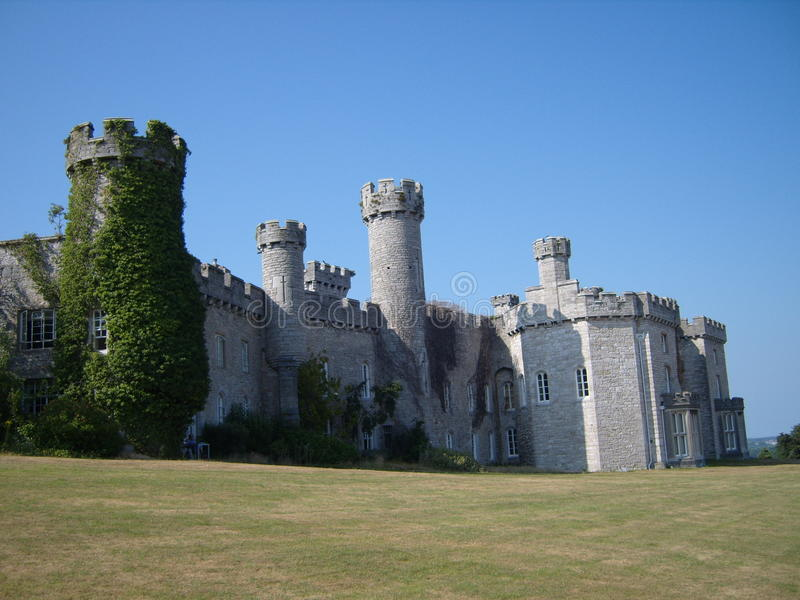 Bodelwyddan城堡威尔士 库存照片