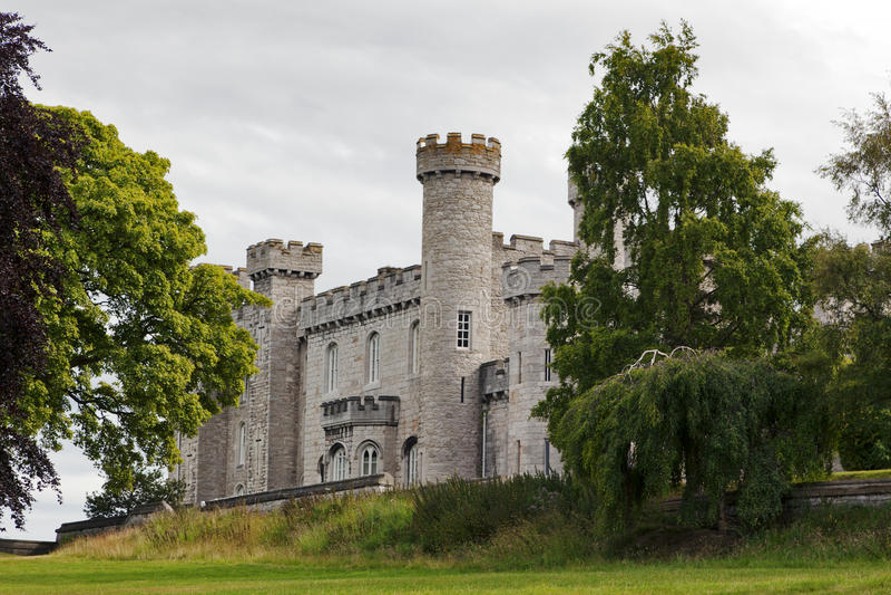 Bodelwyddan Castle, North Wales stock photo