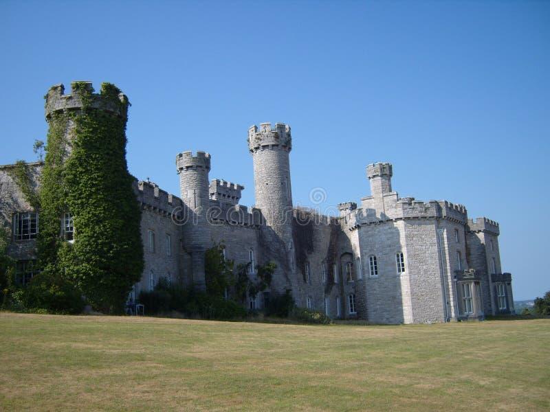 Bodelwyddan Castle Wales stock photo