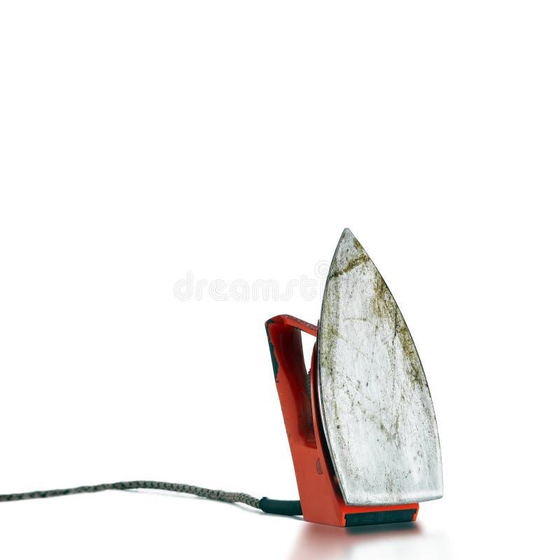 bodem van een elektrisch ijzer   stock fotografie