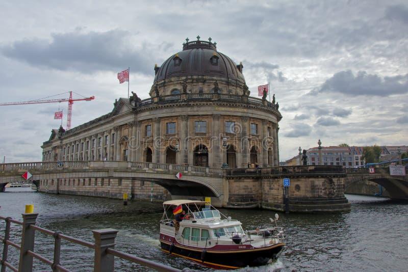Bodemuseum, Берлин стоковое изображение