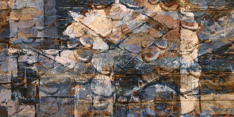 Boden-bunte abstrakte Beschaffenheits-luxuriöses Hintergrund-Beschaffenheits-Bild stockfotografie