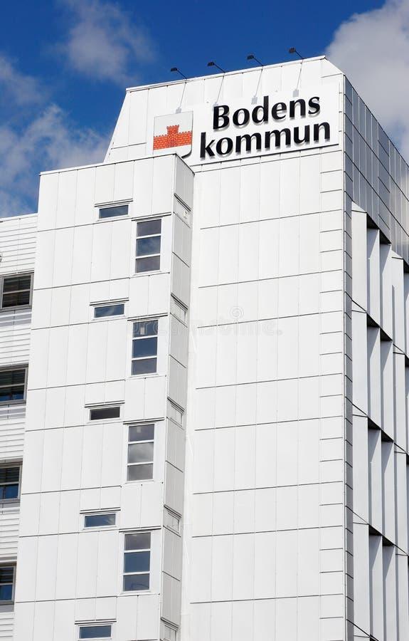Boden-Rathaus stockbild