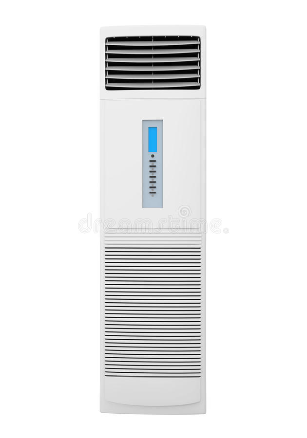 Boden-stehende Klimaanlage Lokalisiert Stock Abbildung ...