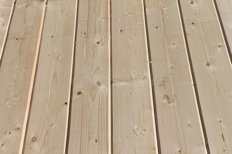 Boden von den neuen Kiefernbrettern stockbilder