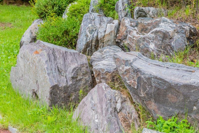 Bodenbeläge für die Landschaftsgestaltung lizenzfreie stockfotografie