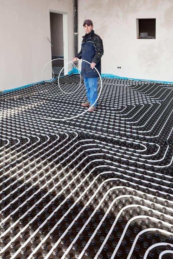 Bodenheizung und abk hlen stockbild bild von temperatur for Boden heizung