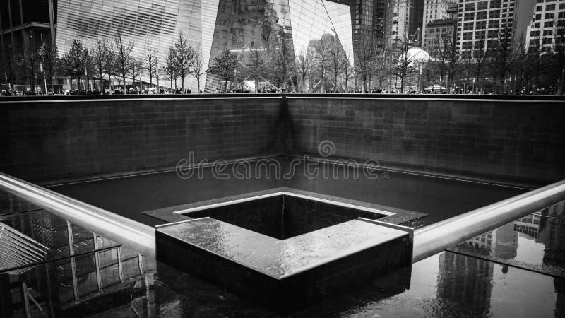 Bodennullpunkt in New York lizenzfreies stockfoto