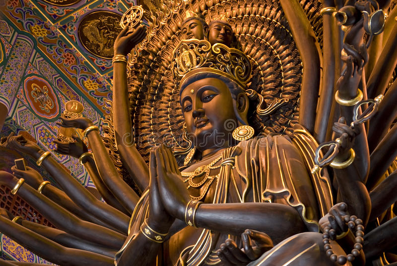 bodhisattva fotografia royalty free