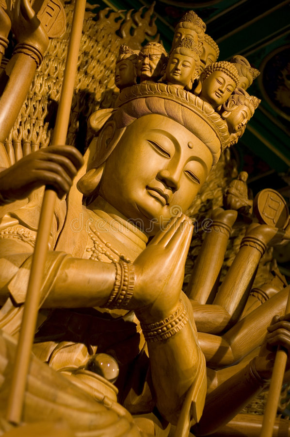Download Bodhisattva stock photo. Image of asia, hands, sculpture - 5855248