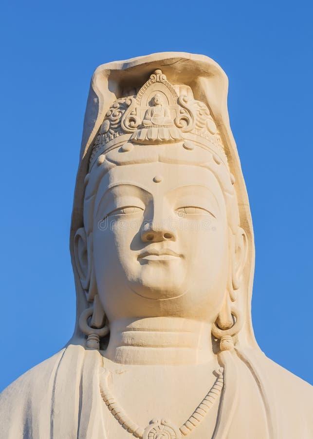 Bodhisattva Avalokitesvara (Kannon) en Ryozen Kannon en Kyoto imágenes de archivo libres de regalías