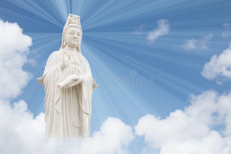 Bodhisattva de Guanyin fotos de archivo libres de regalías