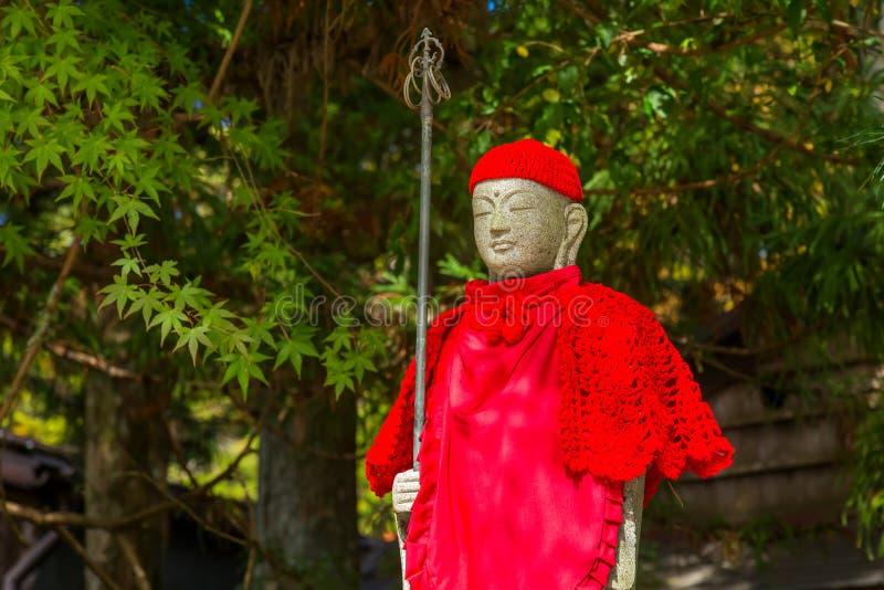 Bodhisattva de Jizo en Koyasan, Wakayama, Japón imágenes de archivo libres de regalías