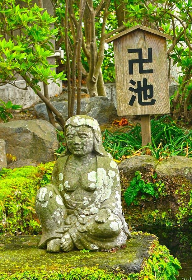 bodhisattva de los Datuse-vagos en Hase Dera Buddhist Temple, Kamakura, Ja fotografía de archivo libre de regalías