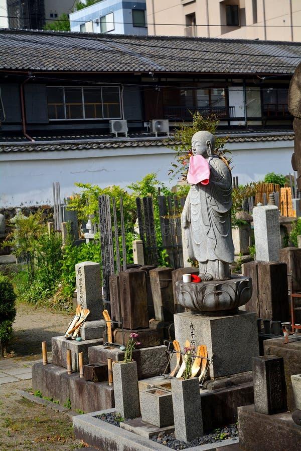 Bodhisattva di Jizo, Kyoto, Giappone fotografia stock libera da diritti
