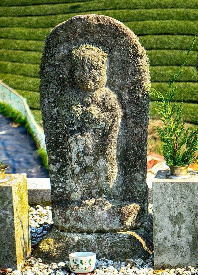 Bodhisattva di Jizo, Wazuka, Giappone fotografia stock libera da diritti