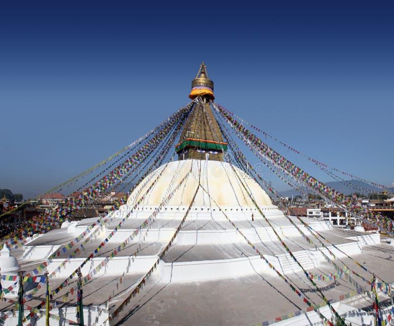 Bodhnath Stupa stock image